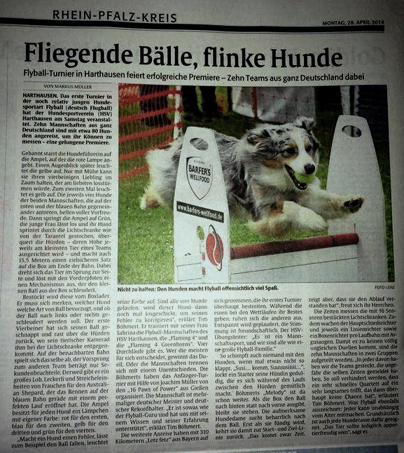 Rheinpfalz-Flyball