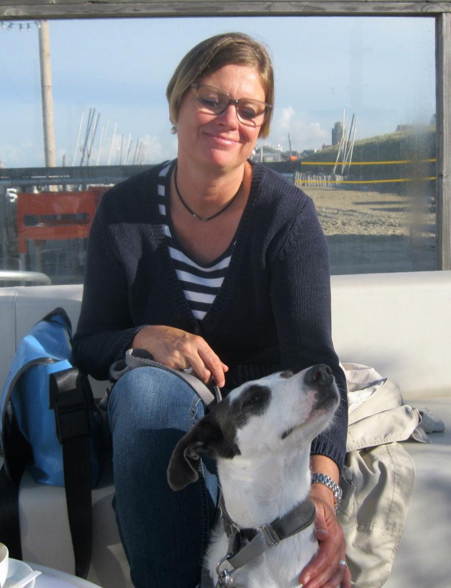 Regine Jahner-Reinhard mit Lola