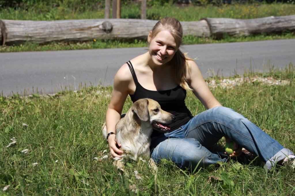 Janina Weinmann mit Lilly